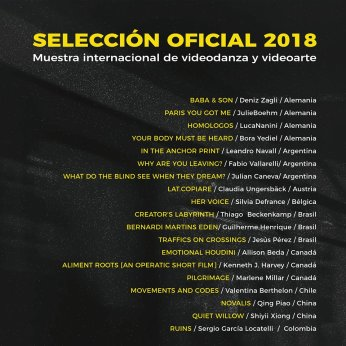 official selection muestra