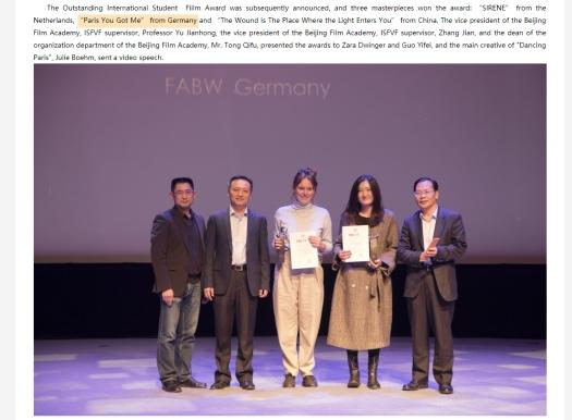 Paris you got me winning the Outstanding International Student Film Award..jpg