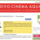FESTIVAL DEL CINEMA PUNTO DI VISTA (Italy) BEST EDITION & YOUNG CHOICE AWARD
