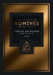 """Nominee: """"Best Editor Shortfilm"""" TOBIAS SCHERER"""