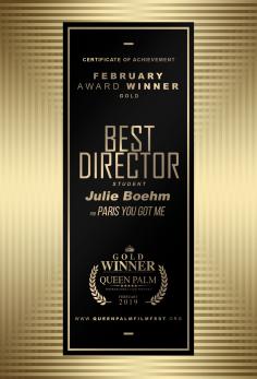 Best Director - Student Julie Boehm