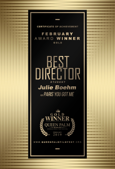 Best Director - Student Julie Boehm