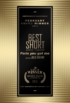 Best Short - Dance/Fashion Paris, you got me
