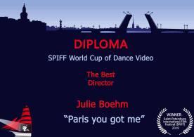 best director _ Julie Boehm SPIFF